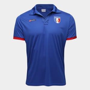 Camisa França 2011 n° 07 Lotto Masculina - Azul e Vermelho