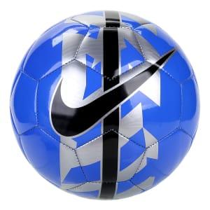 Bola Futebol Nike React Campo - Azul e Cinza