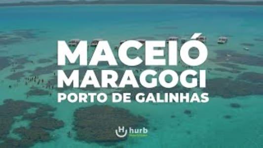 Pacote Maceió + Maragogi + Porto de Galinhas - 2022 - Aéreo + Hospedagem com Café da Manhã - 9 Diárias