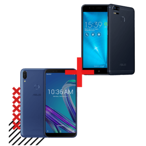 Zenfone Max Pro (M1) 4GB/64GB Azul + Zenfone Zoom S 3GB/32GB Preto