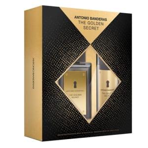 Antonio Banderas The Golden Secret Kit - Eau De Toilette 100ml + Desodorante 150ml