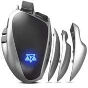 Mouse Gamer Adamantiun Weapon X 1ms Led Rgb Pegada Ajustável