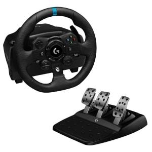 Volante Logitech G923 Racing Wheel para PS4, PS5 e PC