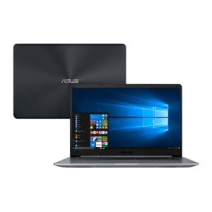 "Notebook Asus Intel Core i7-8550U 8GB 1TB Placa video 2GB Tela 15.6"" Windows 10 VivoBook X510UR-BQ292T Cinza"