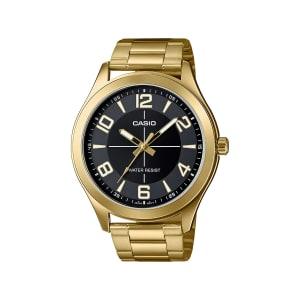Relógio Casio Unissex Dourado Analógico MTP-VX01G-1BUDF