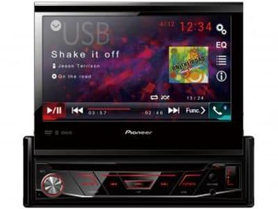 "DVD Automotivo Pionner AVH-3180BT Tela LCD 7"" - Retrátil Touch 23 Watts RMS Entrada Câmera de Ré - Magazine Ofertaesperta"