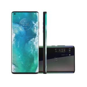 Confira ➤ Smartphone Motorola Edge 128GB Solar Black 5G Tela 6.7 Pol. Câmera Tripla 64MP Selfie 25MP Android 10.0 ❤️ Preço em Promoção ou Cupom Promocional de Desconto da Oferta Pode Expirar No Site Oficial ⭐ Comprar Barato é Aqui!