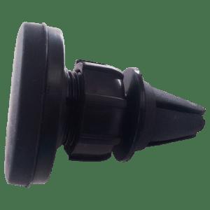 Suporte Veicular Magnético Preto Para Smartphone (Cód: 9889421)
