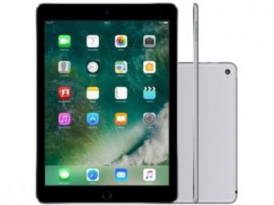 "iPad Air 2 Apple 128GB Cinza Espacial Tela 9,7"" - Retina Proc. Chip A8X Câm. 8MP + Frontal iOS 10 - Magazine Ofertaesperta"