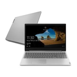 "Notebook Lenovo Ultrafino ideapad S145 i3-1005G1 4GB 1TB Windows 10 15.6"" 82DJ0002BR Prata - Carrefour"