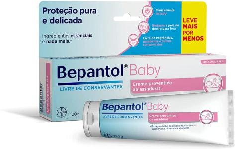 Creme Preventivo de Assaduras Bepantol Baby Para Bebês 120g