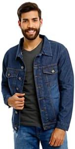 Confira ➤ Várias Cores – Jaqueta Jeans Masculina Tradicional ❤️ Preço em Promoção ou Cupom Promocional de Desconto da Oferta Pode Expirar No Site Oficial ⭐ Comprar Barato é Aqui!
