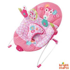 Cadeira de Descanso para Bebês 0 a 9 kg Corujinha Feliz - Bright Starts
