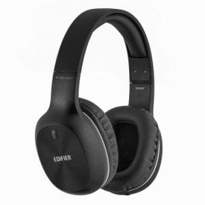 Headphone Bluetooth 4.0 Edifier - Cabo P2 removível, Com Microfone, Controla Música e Volume, Bateria para até 35 horas - W800BT Preto