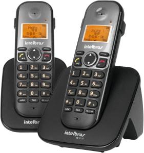 Telefone sem Fio Digital e Ramal Adicional Intelbras TS 5122 (Pacote com 2)