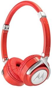 [4 cores] Motorola Sh006 - Fone de Ouvido Pulse 2 com Microfone, Vermelho