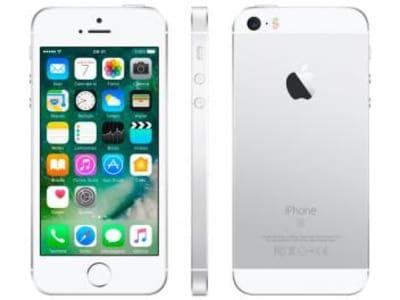 Oferta ➤ iPhone SE Apple 128GB Prateado 4G Tela 4 – Retina Câm. 12MP iOS 10 Proc. Chip A9 Touch ID – Magazine   . Veja essa promoção