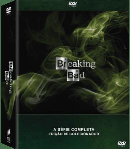 DVD Breaking Bad - A Coleção Completa - Edição de Colecionador - 21 Discos