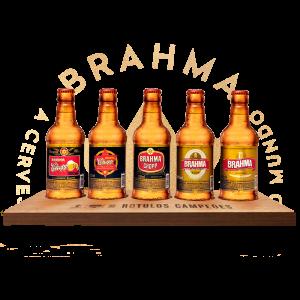 Kit Brahma Rótulos Campeões - Kit Brahma Rótulos Históricos