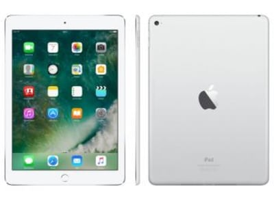 "iPad Air 2 Apple 128GB Prata Tela 9,7"" Retina - Proc. Chip A8X Câm. 8MP + Frontal iOS 10 Touch ID"