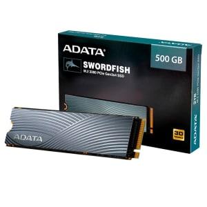 Confira ➤ SSD Adata Swordfish 500GB M.2 PCIe Leituras: 1800MB/s e Gravações: 1200MB/s – ASWORDFISH-500G-C ❤️ Preço em Promoção ou Cupom Promocional de Desconto da Oferta Pode Expirar No Site Oficial ⭐ Comprar Barato é Aqui!