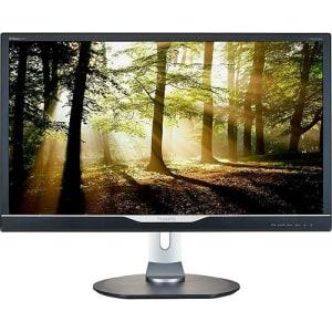 "Monitor LED 28"" Widescreen Ultra HD 4K 288P6LJEB/57 com Auto Falantes Integrados - Philips (Cód. 120072691)"