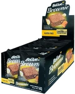 Brownie De Caramelo Com Castanha-do-brasil Sem Glúten Sem Lactose 10 Unidades De 40g