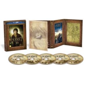 O Hobbit - Uma Jornada Inesperada - Versão Estendida (Blu-Ray 3d) (5 Discos)