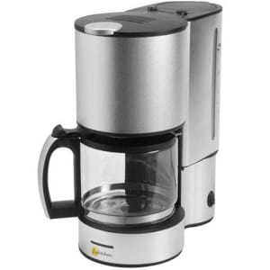Cafeteira Elétrica Fun Kitchen Alu com Jarra de Vidro - 800W