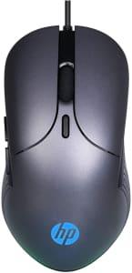 MOUSE GAMER HP RGB, CHUMBO USB, 2400 DPI - M280