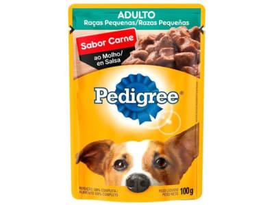 Ração úmida Para Cachorro Adulto Sachê - Carne Ao Molho 100g