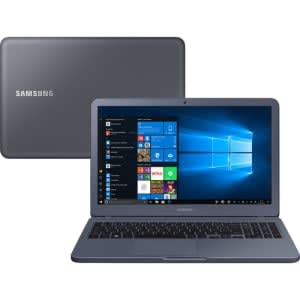 "Notebook Samsung Expert X50 8ª Intel Core I7 8GB (Geforce MX110 com 2GB) 1TB HD LED 15,6"" Cinza"