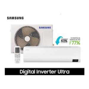 Ar Condicionado Split Hi Wall Samsung Digital Inverter Ultra 9.000 BTU/h Frio Monofásico 220v - AR09TVHZDWKNAZ