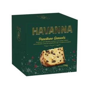 Panettone Havanna Genovês com Frutas 750g