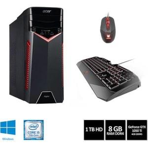 Desktop Gamer Aspire GX-783-BR11 Intel Core 7 I5 8GB (GeForce 1050TI com 4GB) 1TB W10 - Acer