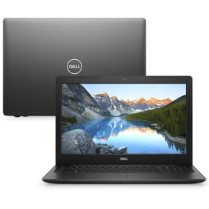 "Notebook Dell Inspiron i15-3584-MS40P 8ª geração Intel Core i3 4GB 128GB SSD 15.6"" Windows 10 Preto"