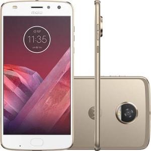 Oferta ➤ Smartphone Motorola Moto Z2 Play Dual Chip Android 7.1.1 Nougat Tela 5,5 Octa-Core 2.2 GHz 64GB Câmera 12MP – Ouro   . Veja essa promoção