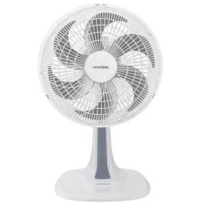 Ventilador Mesa Ventisol 4196 Turbo 6 30 Cm Branco/Cinza 220v