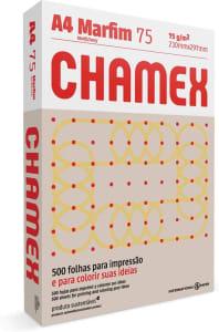 Papel Marfim Chamex - A4 210x297mm - 500 Folhas