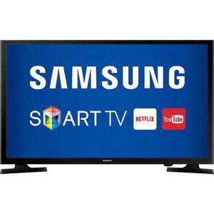 Oferta ➤ Smart TV LED 43 Samsung 43j5200 Full HD Conversor Digital 2 HDMI 1 USB – Preto   . Veja essa promoção