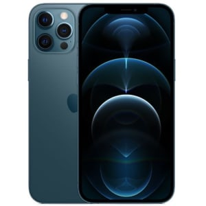 "iPhone 12 Pro Max 128GB iOS 5G Wi-Fi Tela 6.7"" - Azul Pacífico - Apple"