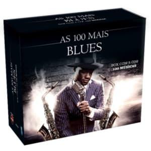 Box 5 CDs As 100 Mais Do Blues