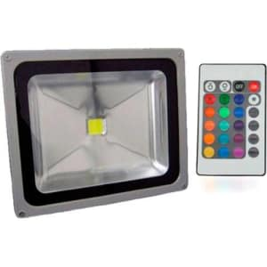 Refletor Holofote Super LED RGB 50W Bivolt