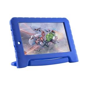 Tablet Multilaser Vingadores Plus Wi-Fi 16GB Android Oreo Quad Core Tela 7 Pol. Câmera 2MP Frontal 1.3MP Azul
