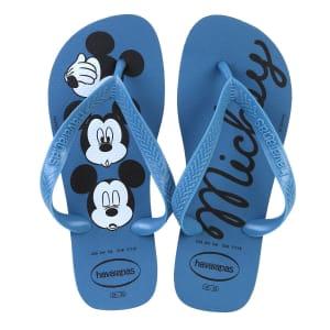 [5 cores] Sandália Havaianas Top Disney Cf - Azul