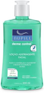 Loção Adstringente Facial Nupill Derme Control 200ml, Nupill, Verde