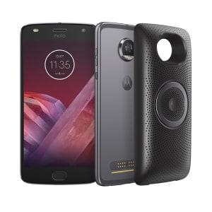 Smartphone Motorola Moto Z2 Play Stereo Speaker Edition Platinum 64GB, Tela de 5.5'', Dual Chip, Câmera 12MP, Android 7.1 e Processador Octa-Core