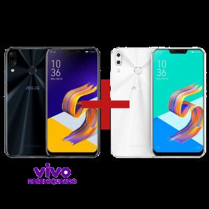 ZenFone 5 4GB/128GB Vivo Desbloqueado Preto + ZenFone 5 4GB/64GB Branco