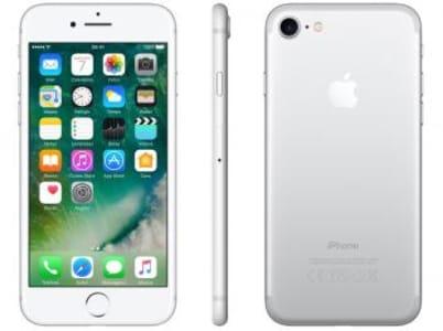 "iPhone 7 Apple 128GB Prateado 4G Tela 4.7"" Retina - Câm. 12MP + Selfie 7MP iOS 10 Proc. Chip A10 - Magazine Ofertaesperta"