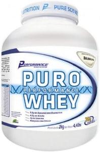 Puro Performance Whey (2Kg) - Sabor Baunilha, Performance Nutrition